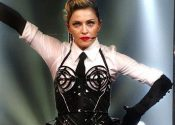 Madonna Takes a Spill at 2015 Brit Awards Bash in London