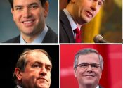 GOP Front Runners Put On Their Running Shoes for 2016