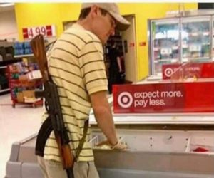 Seen At Target: Now Stand Still While I Shoot You