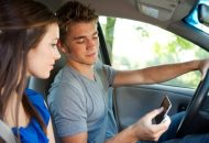 Study Finds Most Teens Text While Driving