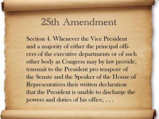 the 25th amendment