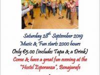 """""""Local Neutering Barn Dance"""" on the Costa Del Sol!"""