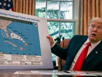 White House Press Secretary Feuds with Press Over Storm Graphics