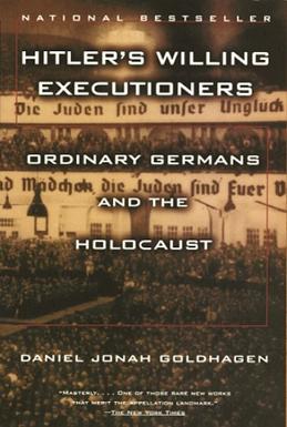 "Book Cover  ""Eliminationist"" German anti-Semitism, Citizen-Killers"