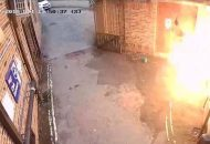 British Man Attempts to Burn Historic Synagogue, Sets Head Aflame