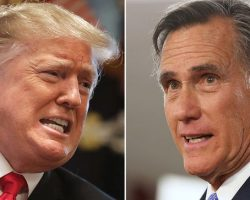 Trump Tears Into Romney After He Calls Trump's Actions Appalling