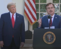 MyPillow CEO Heaps Praise on Trump at Coronavirus Briefing
