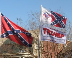 Trump Defends People Who Love the Confederate Flag