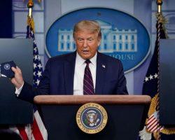 Trump Returns to Do White House Coronavirus Briefings Solo