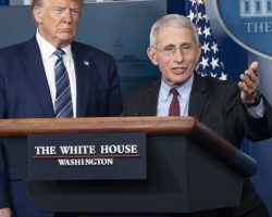 Trump Sidelines Fauci Over His Blunt Talk About the Pandemic