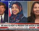 Tucker Carlson Accused of Echoing a White Supremacist Slogan